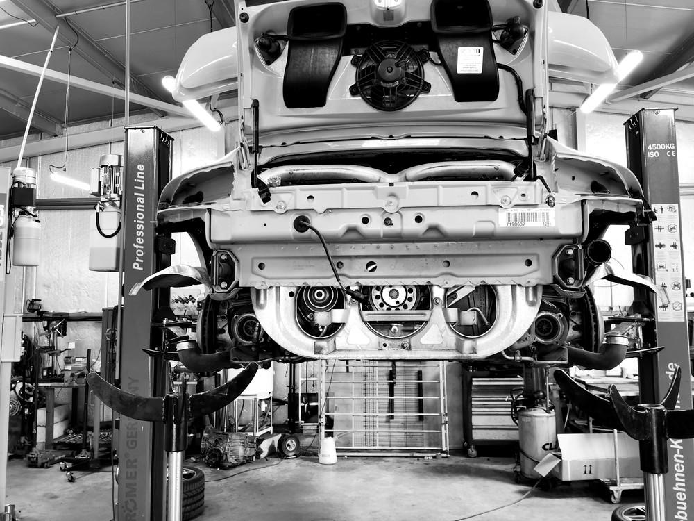 Prestations Sur Les Porsche